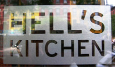 Hell's Kitchen - a neighborhood of fine dining restaurants and international delights